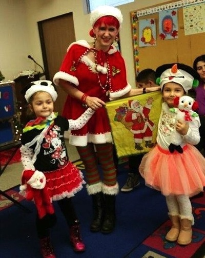 costumed Christmas characters for holiday events
