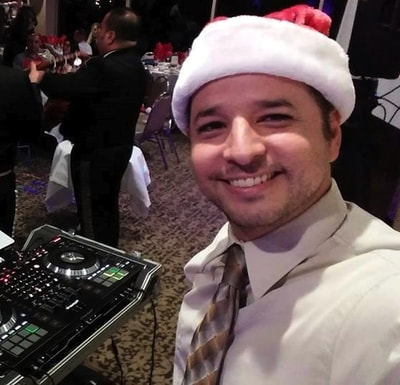 bilingual dj for christmas holiday event